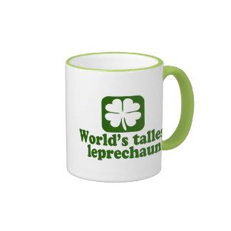 World's Tallest Leprechaun Coffee Mugs