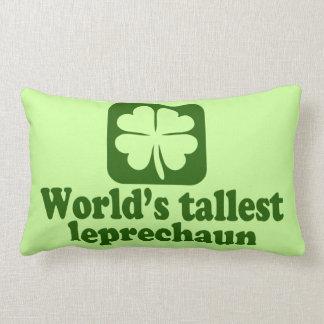 World's Tallest Leprechaun Pillow