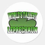 World's Tallest Leprechaun Sticker