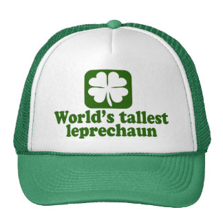 World's Tallest Leprechaun Trucker Hat