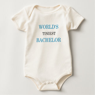 World's Tiniest Bachelor Bodysuits