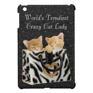 World's Trendiest Crazy Cat Lady Case For The iPad Mini