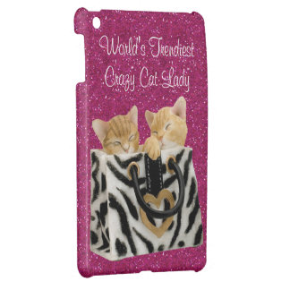 World's Trendiest Crazy Cat Lady Cover For The iPad Mini