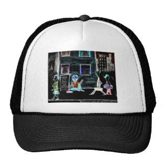 World's Unfunniest Cartoon On Funny Gifts & Tees Trucker Hat