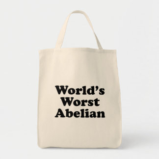 World's Worst Abelian Tote Bag