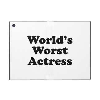 World's Worst Actress Cover For iPad Mini