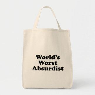 World's Worst Adsurdist Tote Bag