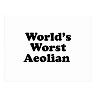World's Worst Aeolian Postcard