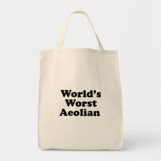 World's Worst Aeolian Tote Bag