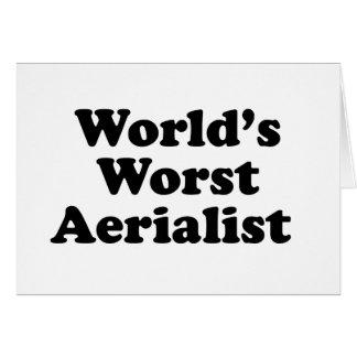 World's Worst Aerialist Card