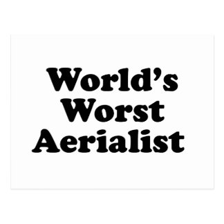 World's Worst Aerialist Postcard