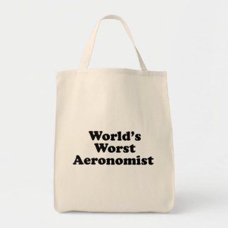 World's Worst Aeronomist Tote Bag