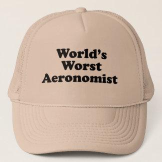 World's Worst Aeronomist Trucker Hat