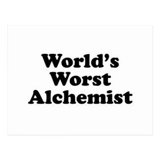 World's Worst Alchemist Postcard