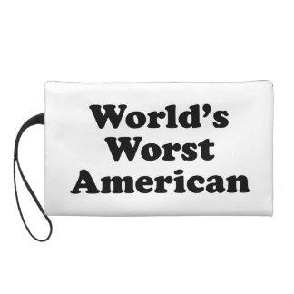 World's Worst American Wristlet Purses