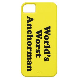 World's Worst Anchorman iPhone 5 Case