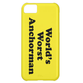 World's Worst Anchorman iPhone 5C Covers