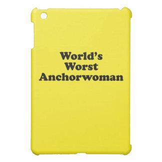 World's Worst Anchorwoman iPad Mini Covers