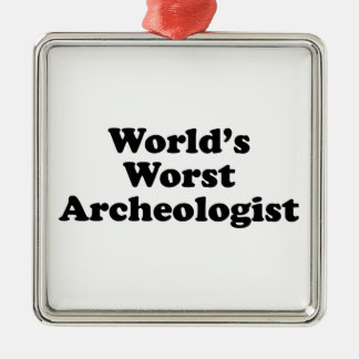 World's Worst Archaeologist Ornament