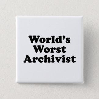 Worlds' Worst Archivist Button