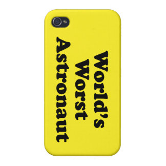 World's Worst Astronaut Cover For iPhone 4
