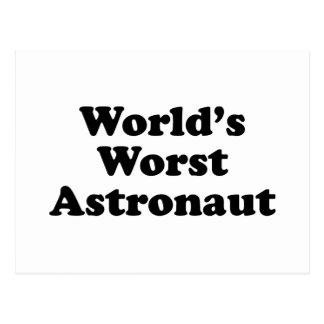 World's Worst Astronaut Postcard