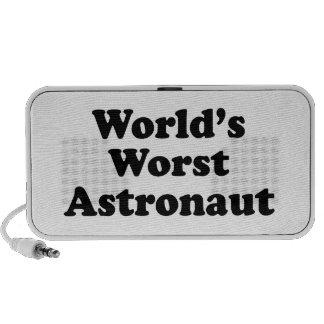 World's Worst Astronaut Laptop Speakers