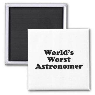 World's Worst Astronomer Magnet