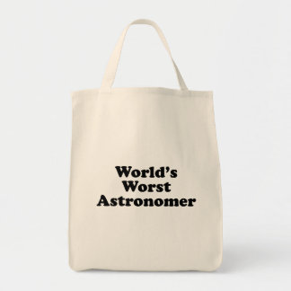 World's Worst Astronomer Tote Bag