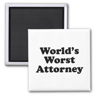 World's Worst Attorney Magnet