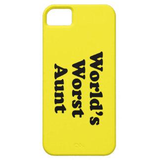 World's Worst Aunt iPhone SE/5/5s Case