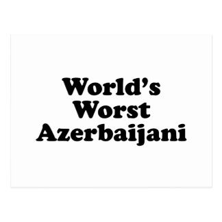 World's Worst Azerbaijani Postcard