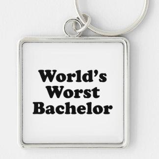 World's Worst Bachelor Keychain