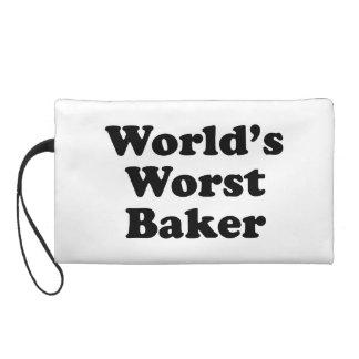 World's Worst Baker Wristlet Clutches