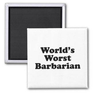 World's Worst Barbarian Magnet