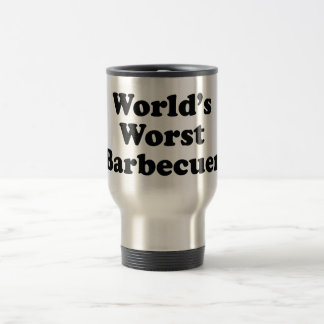 World's Worst Barbecuer Coffee Mugs