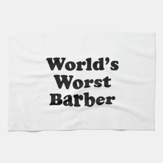 World's Worst Barber Towels