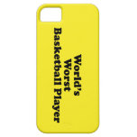 World's Worst Basketball Player iPhone 5 Cases