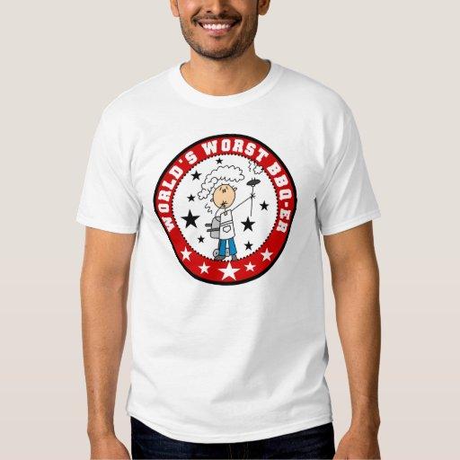 World's Worst BBQ-er T-shirt