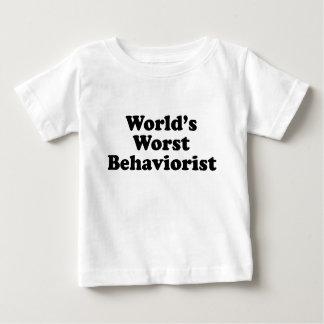 World's Worst Behaviorist Baby T-Shirt