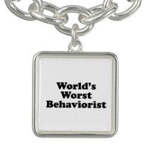 World's Worst Behaviorist Charm Bracelets