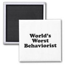 World's Worst Behaviorist Magnet