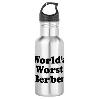 World's Worst Berber Stainless Steel Water Bottle