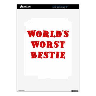 Worlds Worst Bestie Skins For The iPad 2