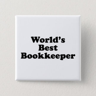 World's Worst Bookkeeper Button