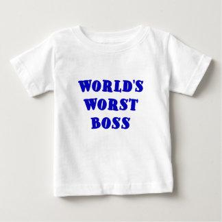 Worlds Worst Boss Baby T-Shirt