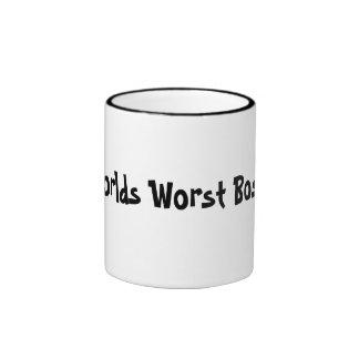 Worlds Worst Boss Mug