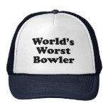 World's Worst Bowler Hats