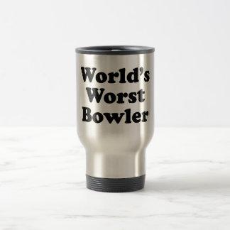 World's Worst Bowler Travel Mug