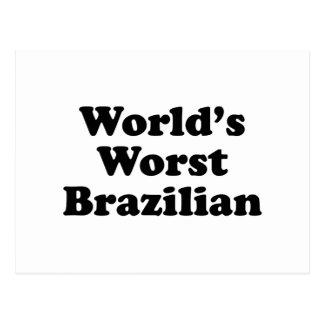 World's Worst Brazilan Postcard